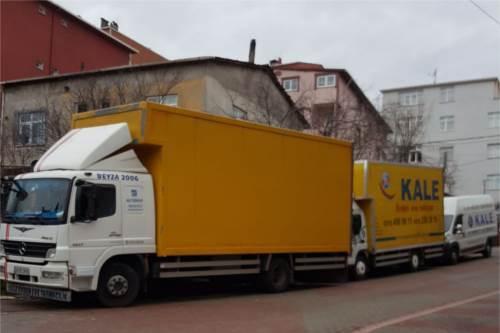 Kale taşımacılık kamyonları