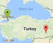 İstanbul'dan Diyarbakır'a