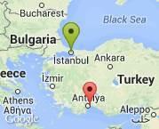 istanbul Antalya