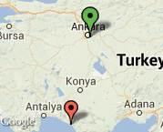Ankara Alanya iki koltuk takımı bir konsul taşıması