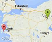 Ankara - çeşme motosiklet nakli