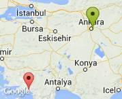 Ankara'dan Muğla Dalaman'a nakliyat