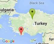 Ankara'dan Antalya Kaş'a