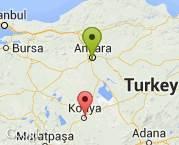 Ankara dan Konya ya