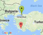 İstanbul'dan Muğla Köyceğiz'e