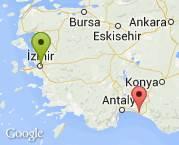 İzmir/Konak - Antalya/Manavgat 2+1 Nakliye
