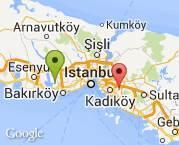 İstanbul Küçükçekmece asansörlü 7. Kat 1+1 daire.
