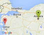 Ankara/Mamak - İzmir/dikili arası girişten girise