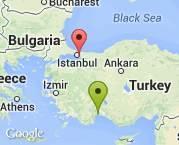Antalya-Ortaca-İstanbul