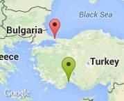 antalya güzeloba'dan istanbul zekeriyaköy'e