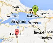 İstanbul Kurtköy - Balıkesir Merkez