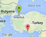 İstanbuldan antalyaya