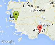 İzmir Torbalı'dan Antalya'ya 3+1 ev taşıma