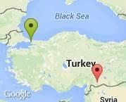 İstanbul'dan Gaziantep'e