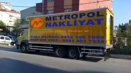 Ankara Metropol Nakliyat güvencesiyle taşının...