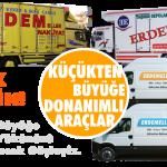 Erdemeller Evden eve Profesyonel Taşıma Mersin ve İstanbulda Hizmetinizde