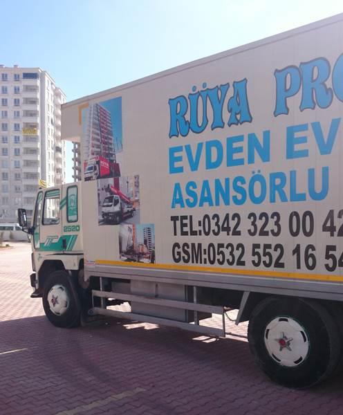 Gaziantep evden eve taşımacılık firmaları