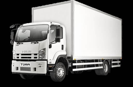kapalı kamyon
