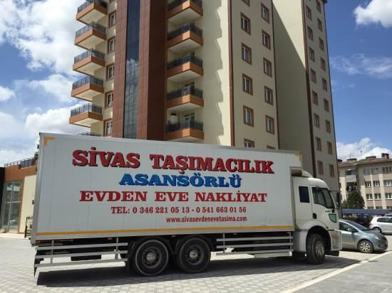Sivas Asansörlü Evden Eve Taşımacılık
