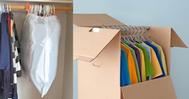 elbiselerin paketlenmesi