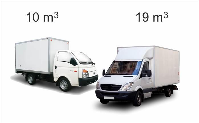 Parça eşya taşıma araçları
