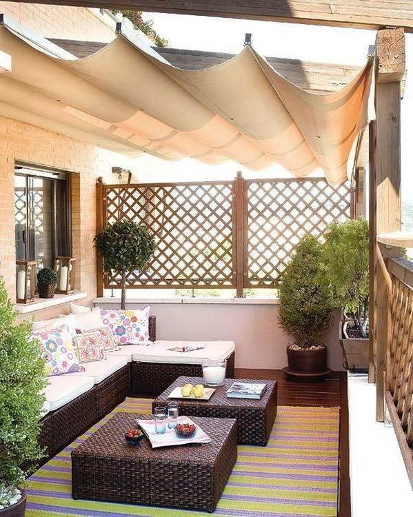 Mükemmel balkon dekorasyon örnekleri