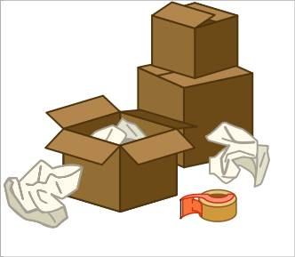 Taşınmak İçin Koli ve Paketleme Malzemeleri
